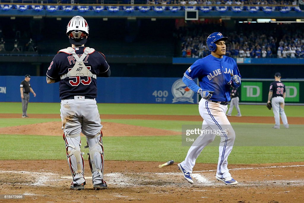 ALCS - Cleveland Indians v Toronto Blue Jays - Game Four