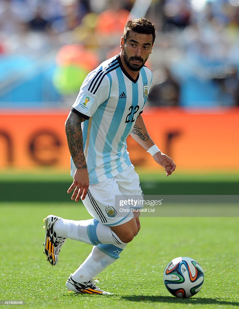 Argentina v Switzerland: Round of 16 - 2014 FIFA World Cup Brazil : Nyhetsfoto