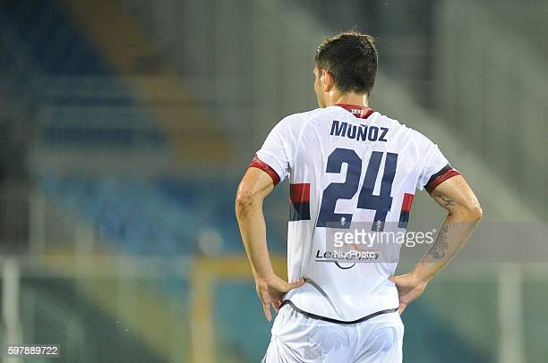 Ezequiel Muñoz during serie A tim between Crotone v Genoa in Pescara on August 28 2016