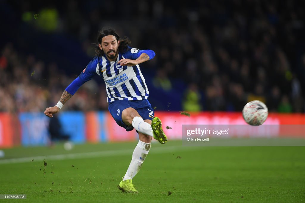 Brighton and Hove Albion v Sheffield Wednesday - FA Cup Third Round : News Photo