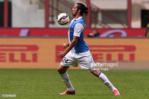 Ezequiel Schelotto of Chievo Verona in action during the Serie A match between FC Internazionale Milano and AC Chievo Verona at Stadio Giuseppe...