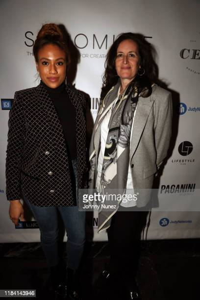 Ezinma and Norah Lawlor attend Paganini Honors Paganini at Ascent Lounge on October 28 2019 in New York City
