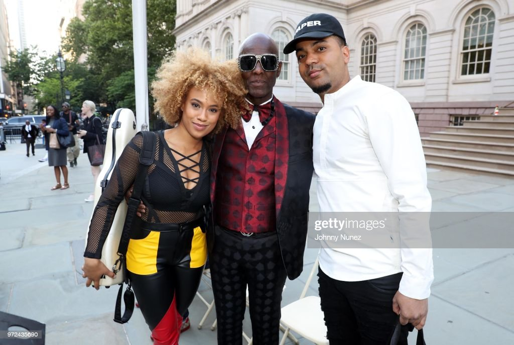 Ezinma, Dapper Dan, and Dorian Harrington attend the 3rd Annual Influence Awards at City Hall on June 11, 2018 in New York City.