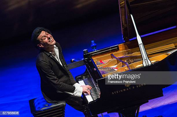 Ezio Bosso Performs on May 3 2016 in Milan Italy