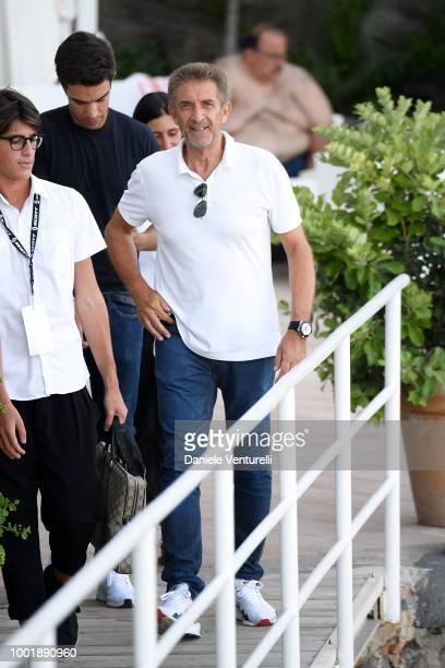 Ezio Greggio attends 2018 Ischia Global Film Music Fest on July 19 2018 in Ischia Italy