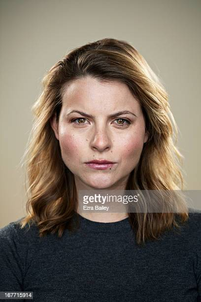 portrait of a woman looking angry. - displeased stock pictures, royalty-free photos & images