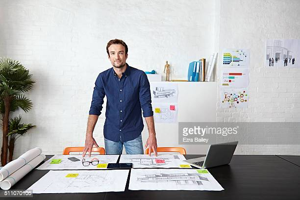 portrait of a young creative business man, - entrepreneur stock pictures, royalty-free photos & images