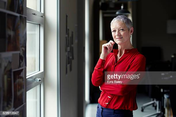 honest portrait of a business woman in an office. - businesswoman stock pictures, royalty-free photos & images