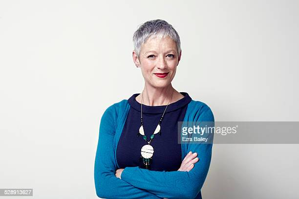portrait of a business woman arms folded.