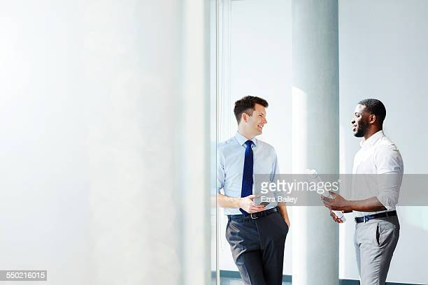 businessmen discussing plans - advice stock pictures, royalty-free photos & images
