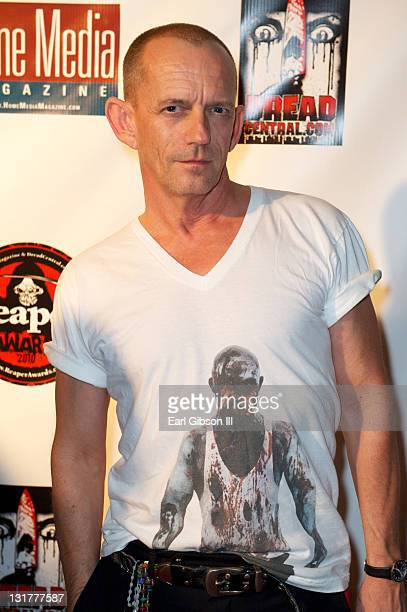 Ezra Buzzington at the 2010 Reaper Awards held at The Roosevelt Hotel on October 12 2010 in Hollywood California
