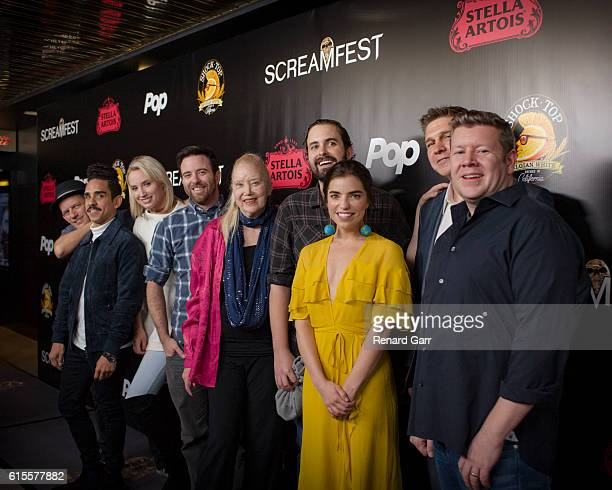 Ezra Buzzington Ray Santiago Molly McCook Dave Lawson Sally Kirkland Richard Bates Jr Angela Trimbur Devin Herbers and Matt Smith arrive at the...