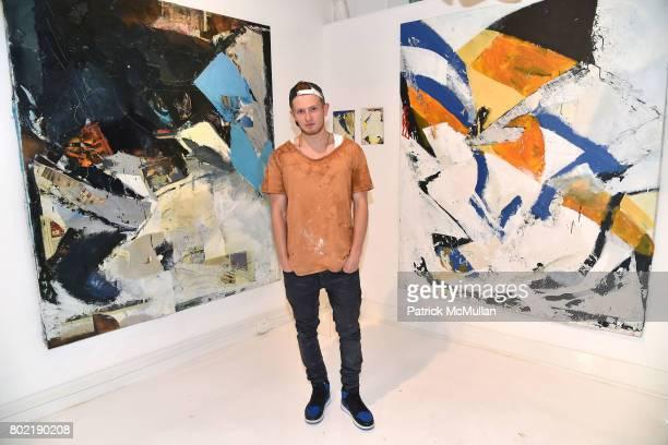 Ezra Cohen attends Todd Merrill Studio Summer 2017 Exhibition Opening Reception at Todd Merrill Studio on June 24 2017 in Southampton NY