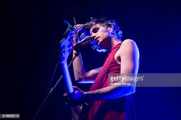 Ezra Furman performs at The O2 Ritz Manchester on October 27, 2016 in Manchester, England.