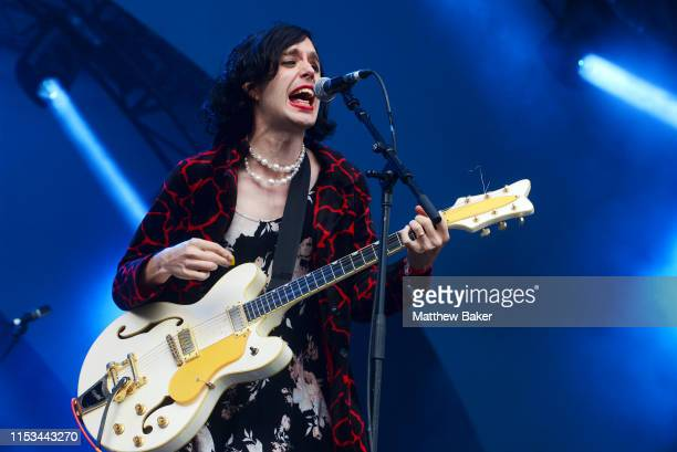 Ezra Furman performs during the All Points East Festival at Victoria Park on June 02, 2019 in London, England.