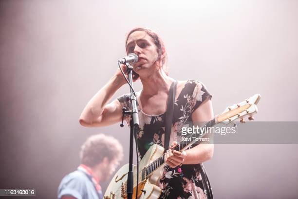 Ezra Furman performs in concert during the Festival Internacional de Benicassim on July 21, 2019 in Benicassim, Spain.