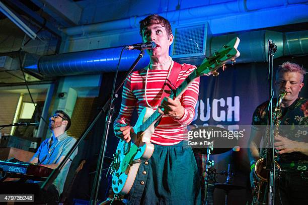 Ezra Furman performs live at Rough Trade East on July 6, 2015 in London, United Kingdom.