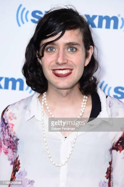 Ezra Furman visits SiriusXM Studios on August 19, 2019 in New York City.