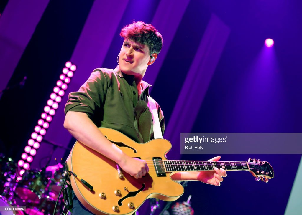 iHeartRadio Album Release Party With Vampire Weekend At The iHeartRadio Theater LA : News Photo