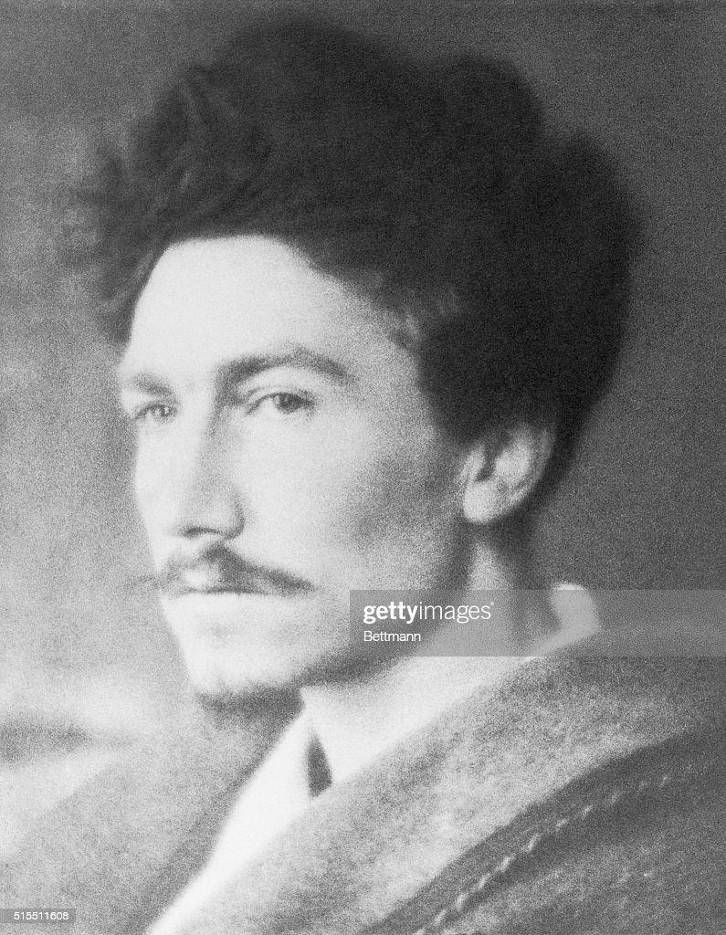 Portrait of Author Ezra Pound : News Photo