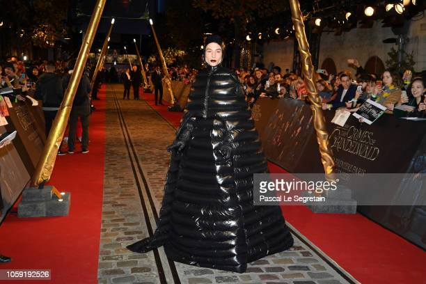 Ezra Miller attends Fantastic Beasts The Crimes Of Grindelwald World Premiere at UGC Cine Cite Bercy on November 8 2018 in Paris France