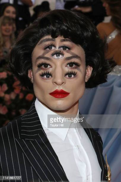 Ezra Miller attends the 2019 Met Gala celebrating Camp Notes on Fashion at The Metropolitan Museum of Art on May 6 2019 in New York City