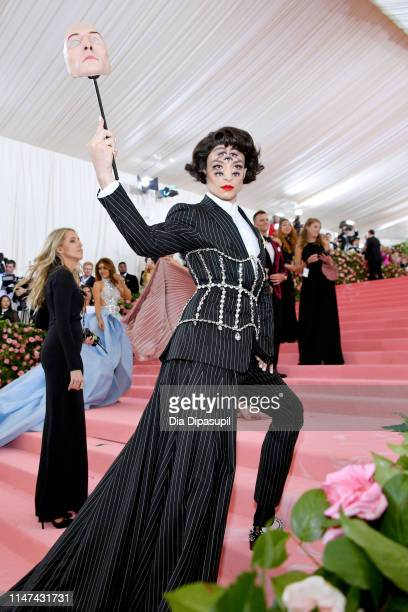 Ezra Miller attends The 2019 Met Gala Celebrating Camp Notes on Fashion at Metropolitan Museum of Art on May 06 2019 in New York City
