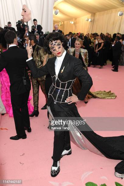 Ezra Miller attends The 2019 Met Gala Celebrating Camp Notes On Fashion at The Metropolitan Museum of Art on May 06 2019 in New York City