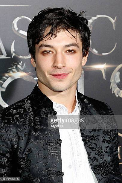 Ezra Miller attends the premiere of 'Fantastic Beasts and Where to Find Them' at Alice Tully Hall Lincoln Center on November 10 2016 in New York City