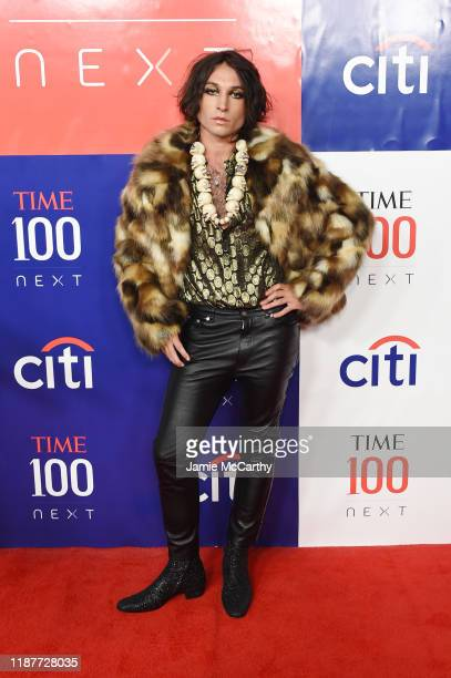 Ezra Miller attends Time 100 Next at Pier 17 on November 14, 2019 in New York City.