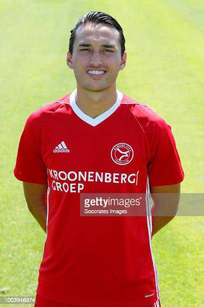 Ezra Walian of Almere City during the Photocall Almere City at the Yanmar Stadium on July 16 2018 in Almere Netherlands