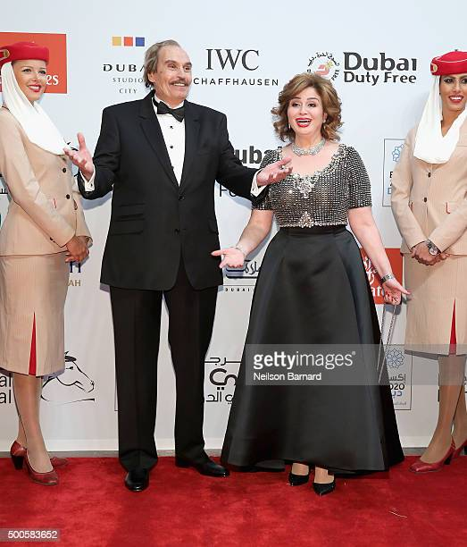 Ezzat El Alaili who receives a Lifetime Achievement award attends the Opening Night Gala of Room during day one of the 12th annual Dubai...