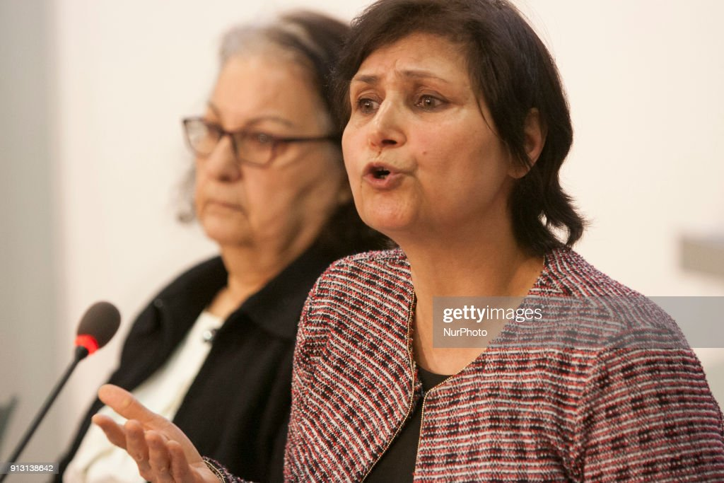 Ezzat Habibnejad, Geneva, Switzerland, - On1 February 2018, at Geneva Press club, a civil society hearing in Geneva heard witnesses and legal experts and offered an adjudication of the 1988 massacre of political prisoners in Iran.TheTestimony by fifteen witnesses:Ezzat Habibnejad (wife of victim), give testimony to the hearing.