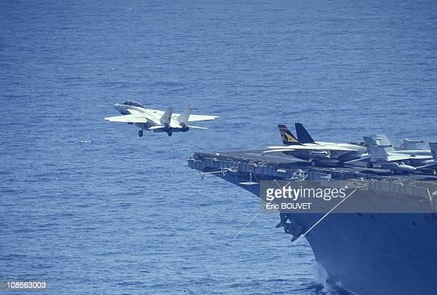F14a Tomcat in Saudi Arabia on September 09th 1990