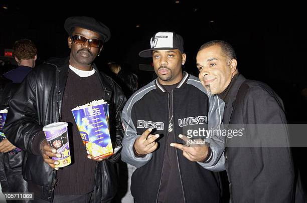Fab Five Freddy producer Damon Dash and director Charles Stone III