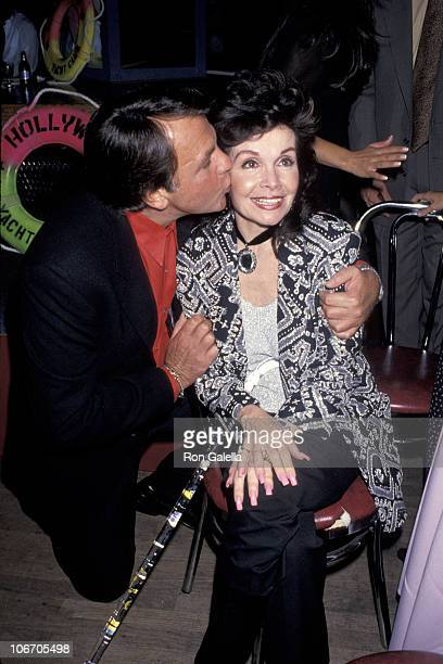 Fabian and Annette Funicello during Party for Annette Funicello's Star On The Walk of Fame Boxed Musical Anthology at Hollywood Yacht Club in...