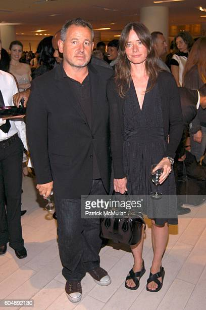 Fabian Baron and Milan Baron attend Balenciaga Paris Launch Hosted by Nicolas Ghesquiere and Howard Socol at Barneys on September 8 2006 in New York...