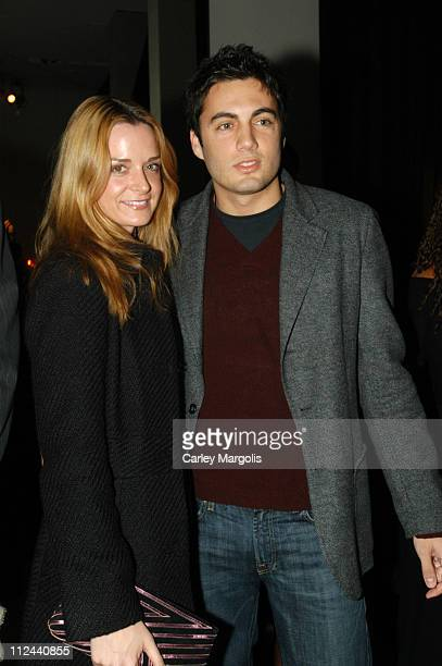 Fabian Basabe and guest during Donna Karan Celebrates the First Twenty Years with the Launch of The Journey of a Woman 20 Years of Donna Karan at...