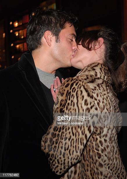 Fabian Basabe and Martina Borgomanero during Abercrombie Fitch Store Opening on 5th Avenue in New York City at A F 5th Avenue in New York City New...