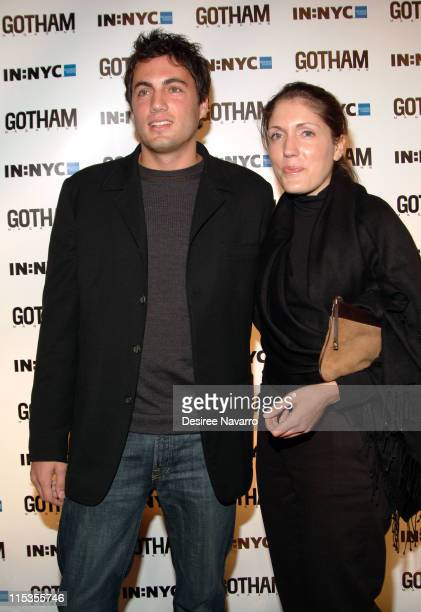 Fabian Basabe and Nicole Basabe during Gotham Magazine's 5th Anniversary Party at Cipriani's 23rd Street in New York City New York United States