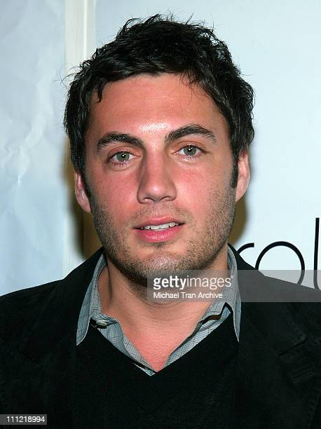 Fabian Basabe during Benderspink Party for A History of Violence Arrivals at Aqua Lounge in Beverly Hills California United States