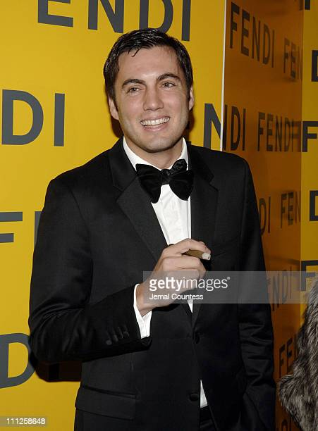 Fabian Basabe during Fendi Presents The All Hollows Eve Party at 25 Broadway in New York City New York United States