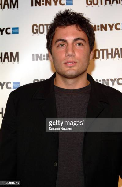 Fabian Basabe during Gotham Magazine's 5th Anniversary Party at Cipriani's 23rd Street in New York City New York United States