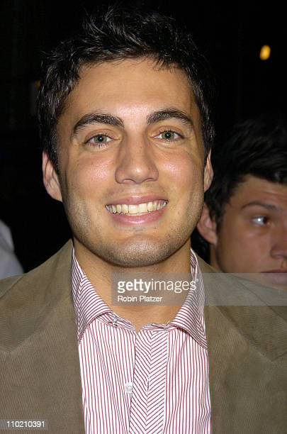 Fabian Basabe during Olympus Fashion Week Spring 2005 Holly Kristen Runway and Front Row at The Rainbow Room Rockefeller Center in New York City New...