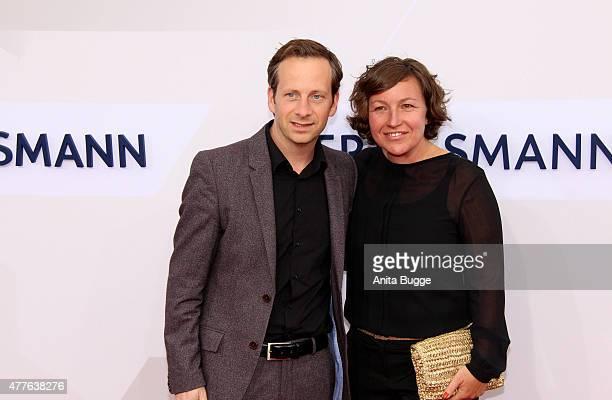 Fabian Busch and Sunny Busch attend the Bertelsmann Summer Party 2015 at the Bertelsmann representative office on June 18 2015 in Berlin Germany