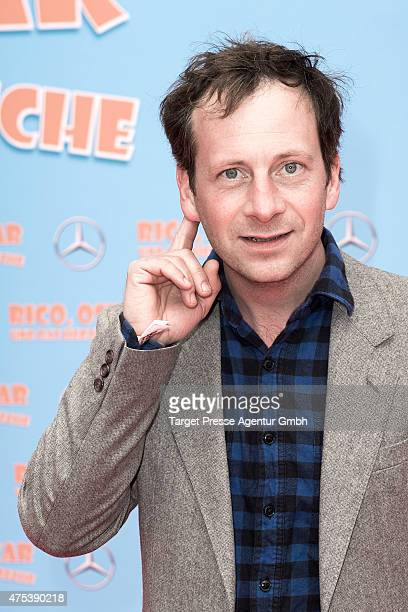 Fabian Busch attends the Berlin premiere for the film 'Rico, Oskar und das Herzgebreche' at Zoo Palast on May 31, 2015 in Berlin, Germany.