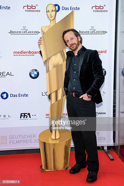 Fabian Busch attends the nominee dinner for the German Film Award 2015 Lola on April 30 2016 in Berlin Germany