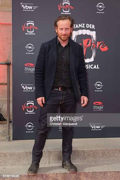 Fabian Busch attends the premiere of the musical 'Tanz der Vampire' at Stage Theater des Westens on April 24 2016 in Berlin Germany