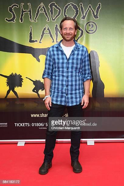 Fabian Busch attends the 'Shadowland 2 Neues aus dem Reich der Schatten' World Premiere at Admiralspalast on July 28 2016 in Berlin Germany