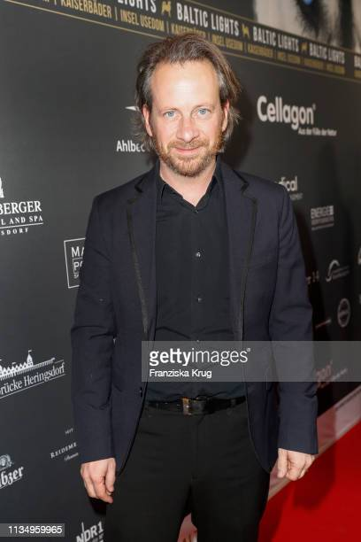 Fabian Busch during the Baltic Lights gala night event on March 9 2019 in Heringsdorf Germany The annual charity event hosted by German actor Till...